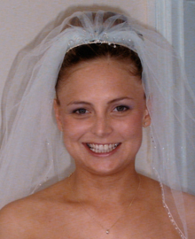Wedding Face Bride after