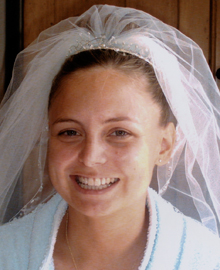 Wedding Face Bride before